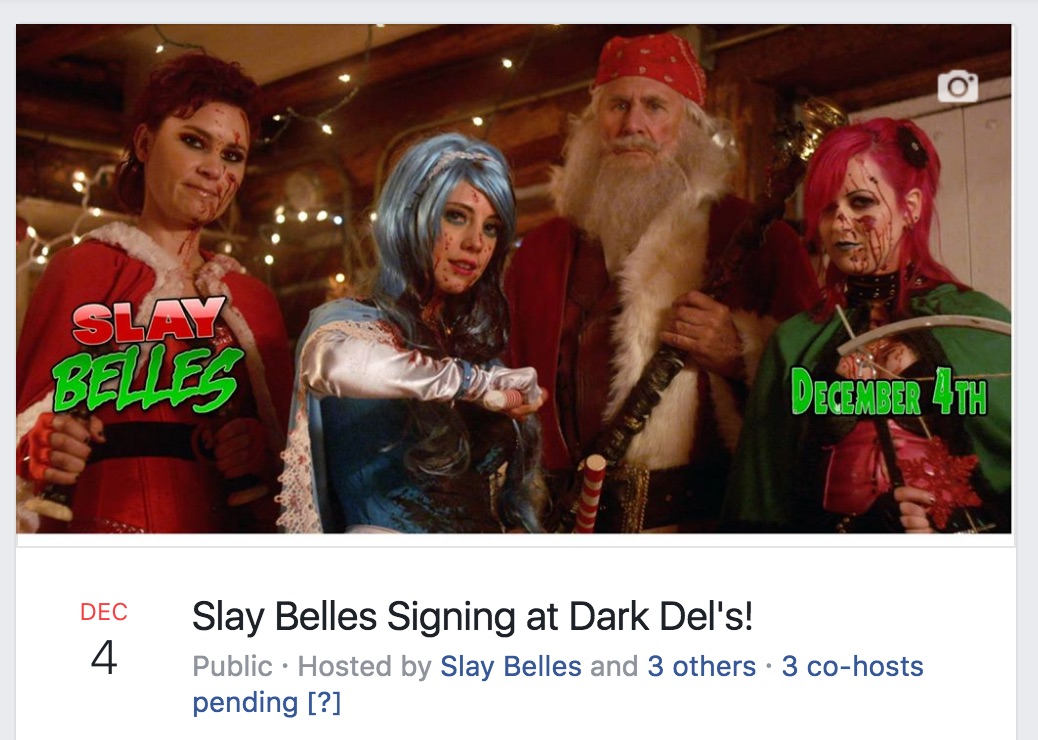 Blu-ray Signing at Dark Delicacies December 4th!