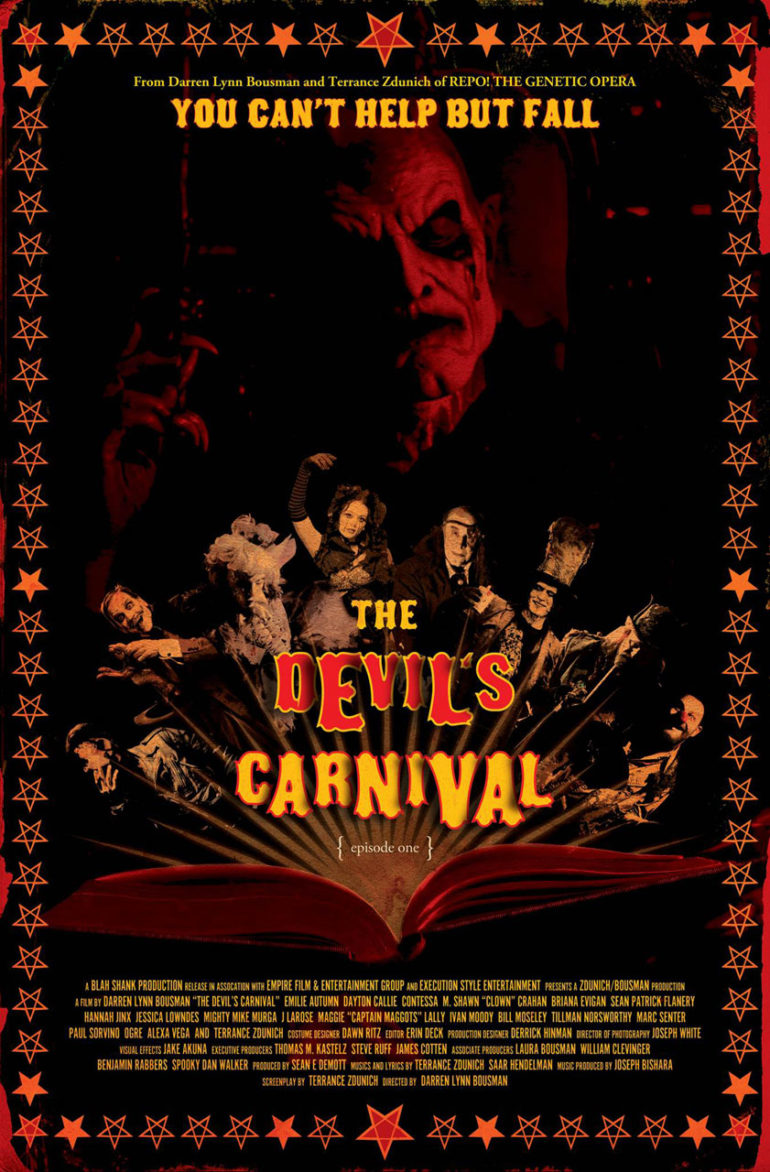 The Devil's Carnival is now streaming on Amazon Prime